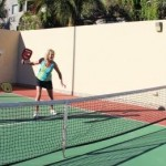 Pickleball in San Carlos, Mexico