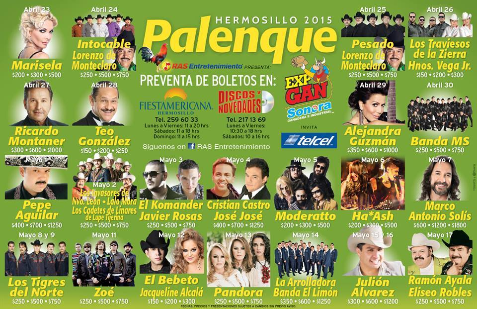 April 23 palenque