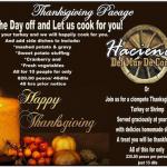 USA Thanksgiving: November 22, 2018