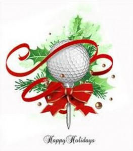 December 6 Holiday golf