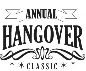 annual hangover golf tournament