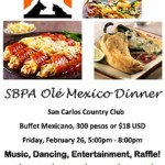 Olé Mexico Dinner: February 25, 2017 | SBPA Fundraiser