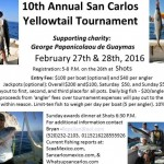 Yellowtail Fishing Tournament, February 25 - 26, 2017