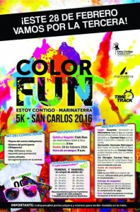 Feb 28 Color Fun Run