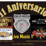 Sons of Freedom Anniversary Party: March 3, 2018