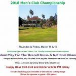 Golf Club Championship, March 14 & 15, 2019