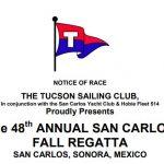 Tucson Sailing Club Fall Regatta | Event Schedule | October 26 to 28, 2018