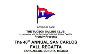 2018 Tucson Sailing Club Fall Regatta