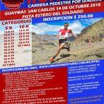 Trail Running Race, October 14