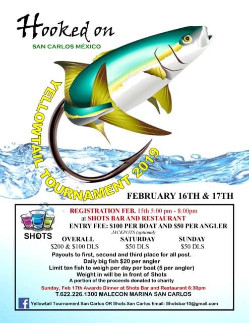 Yellowtail Fishing Tournament, March 10 - 11, 2018 | San