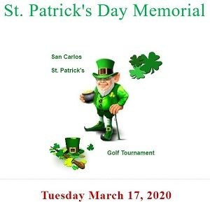 St. Patrick's Day Memorial Golf Tournament